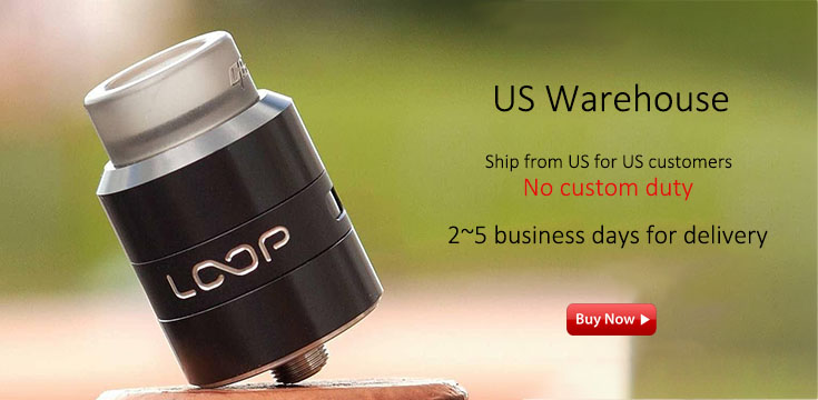 Vape products in US warehouse