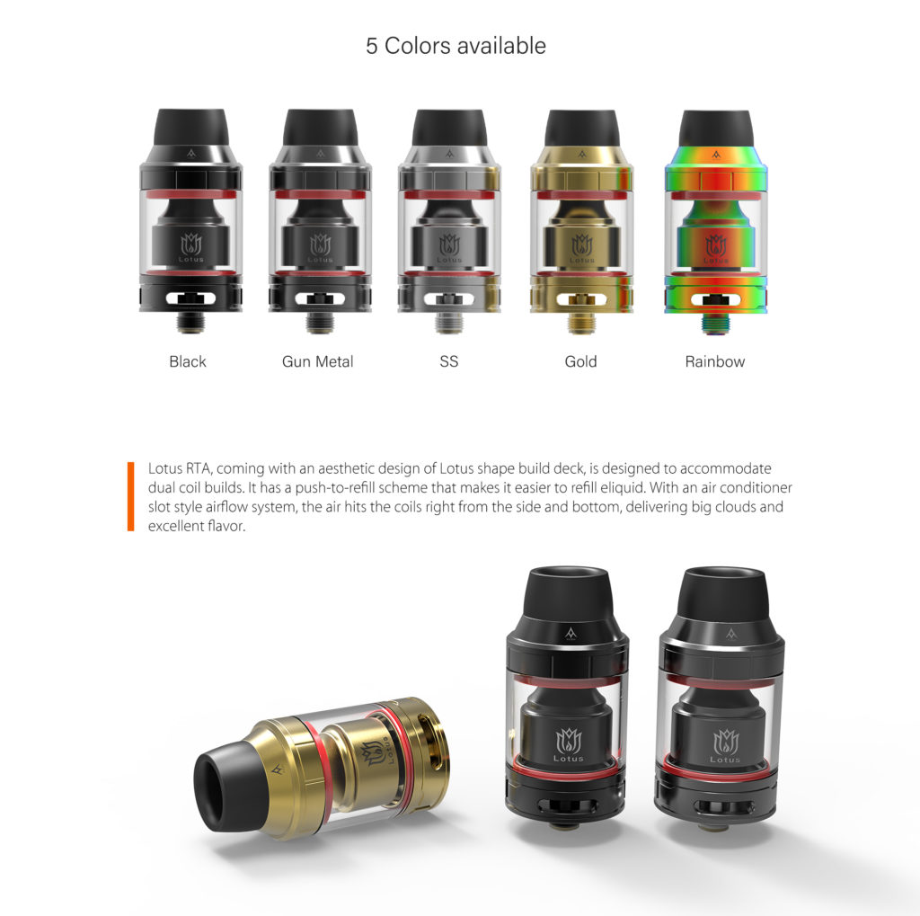 Hugsvape Lotus Rta With Air Conditioner Slot Style Airflow