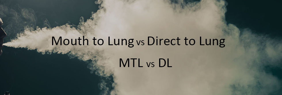 Mouth to lung vs direct to lung