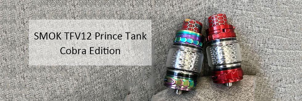 smok tfv12 prince cobra tank