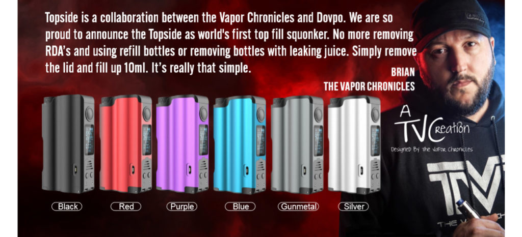 Topside squonk mod colors