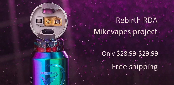 Recurve RDA by MikeVapes