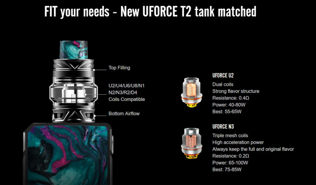 Drag 2 kit specifications