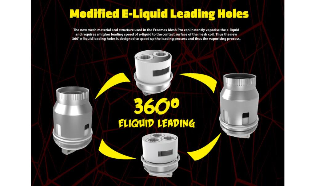 FreeMax Mesh Pro eliquip leading