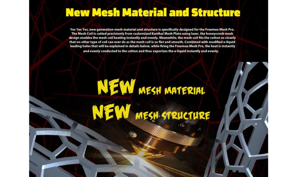 FreeMax Mesh Pro mesh