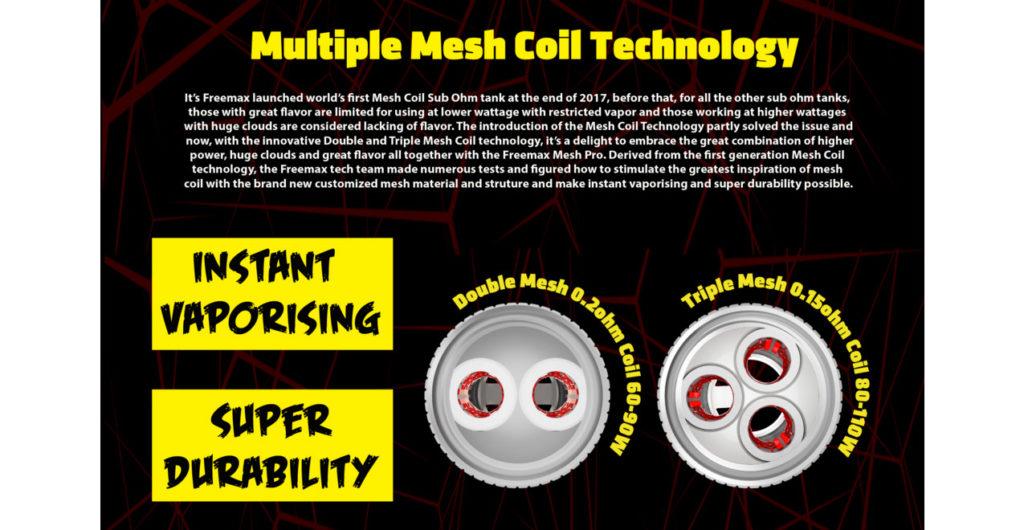 FreeMax Mesh Pro mesh coil