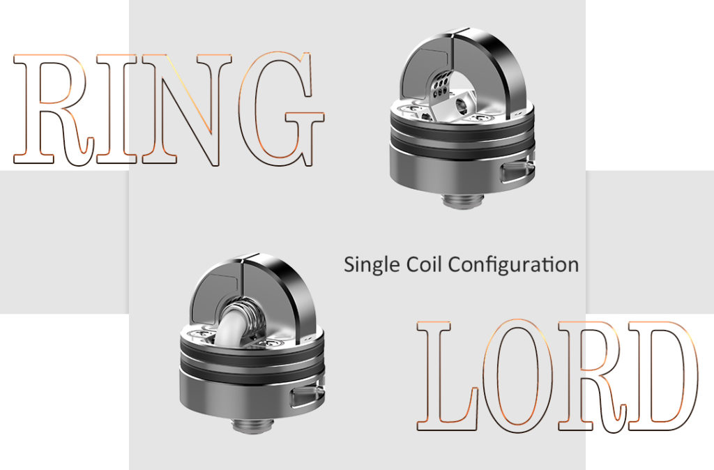 Ring Lord RDA single coil configuration