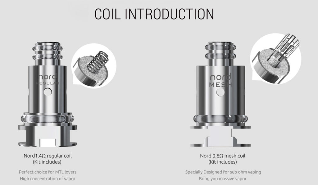 Coil Head For Smok Nord Kit