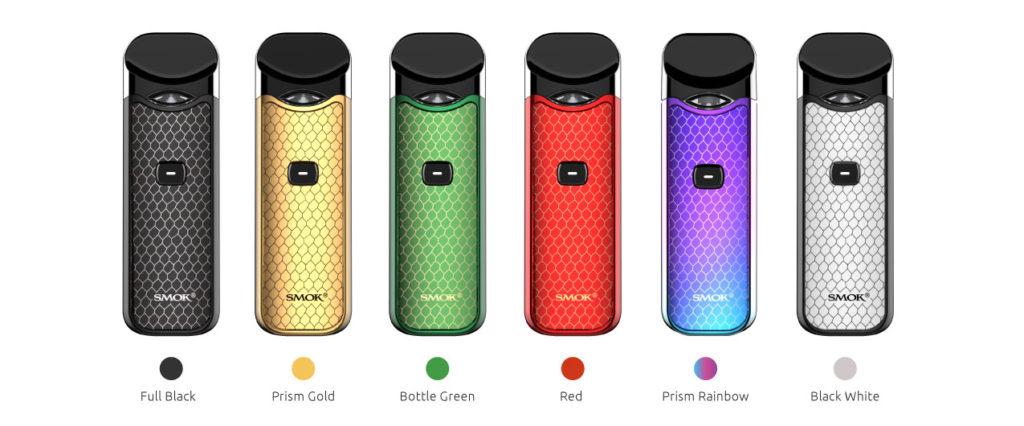 SMOK Nord Pod Kit Color