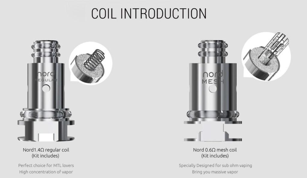 SMOK Nord Pod Kit coil