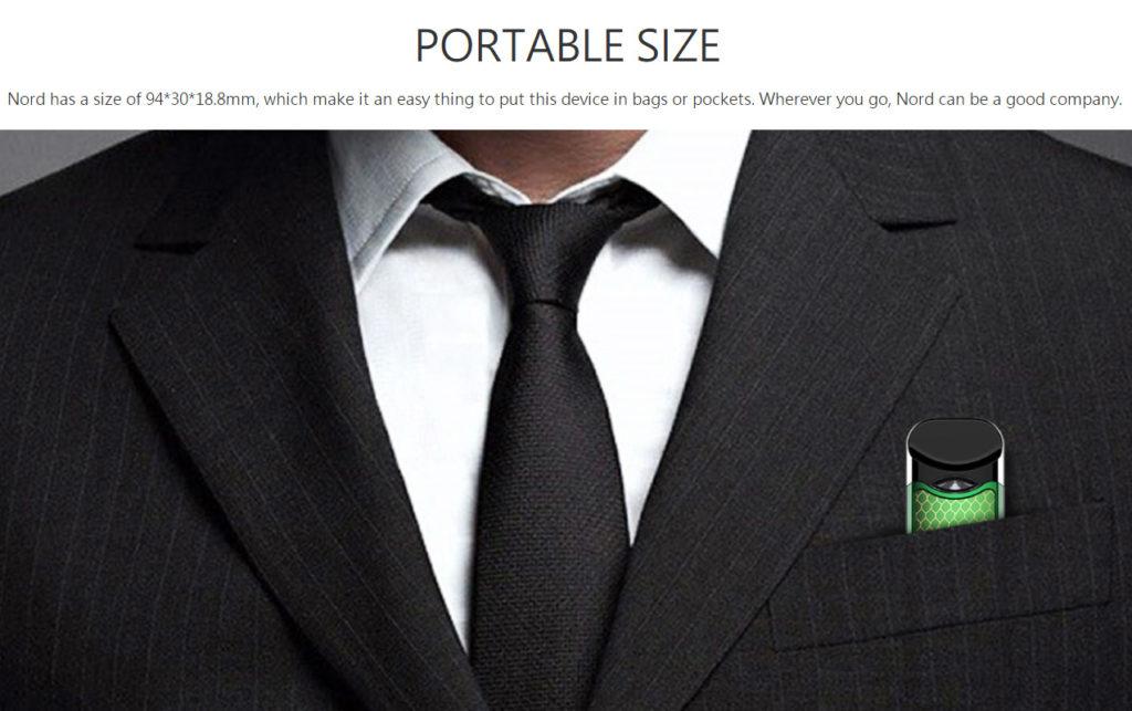 SMOK Nord Pod Kit portable size
